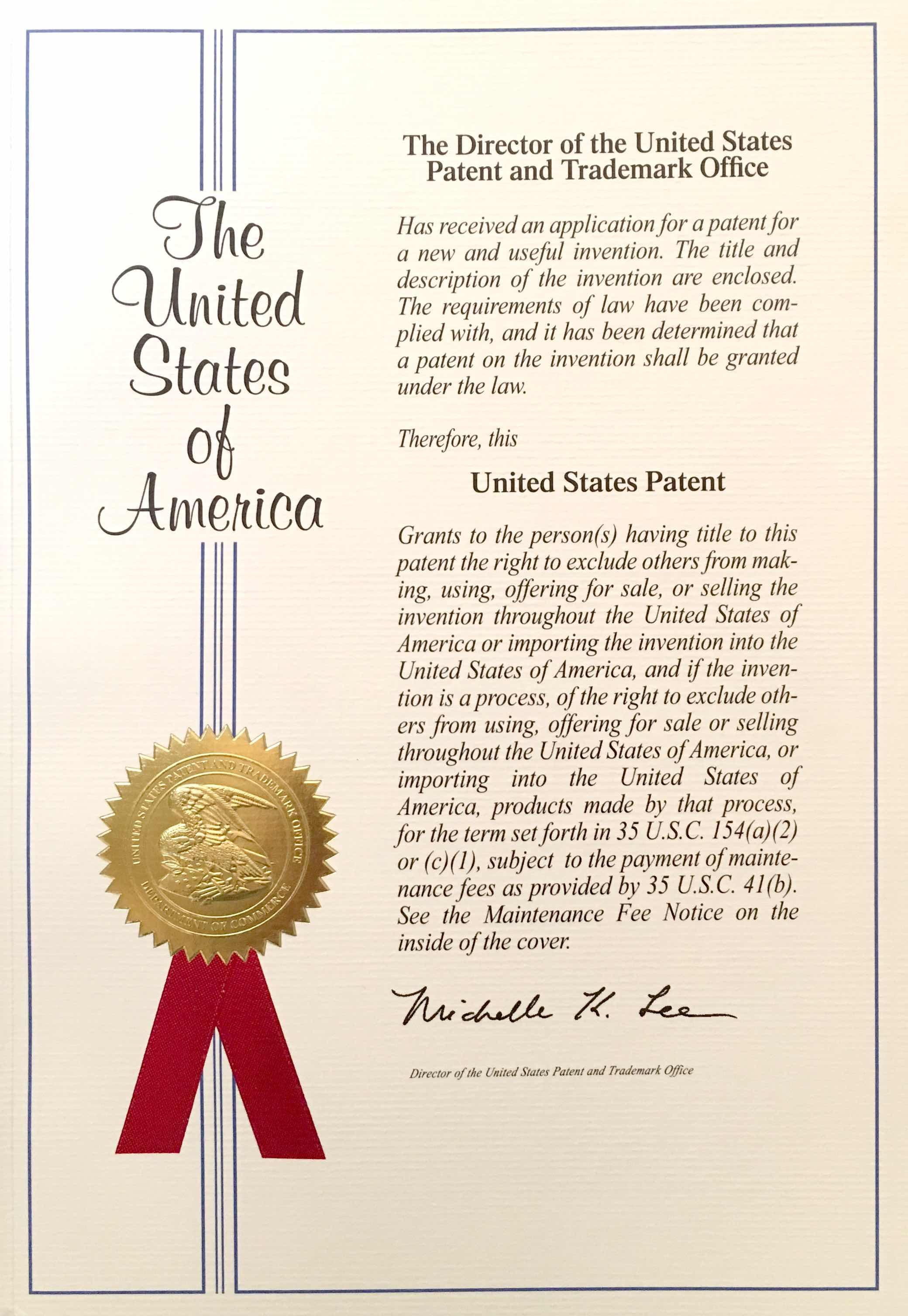 CareRinger US patent