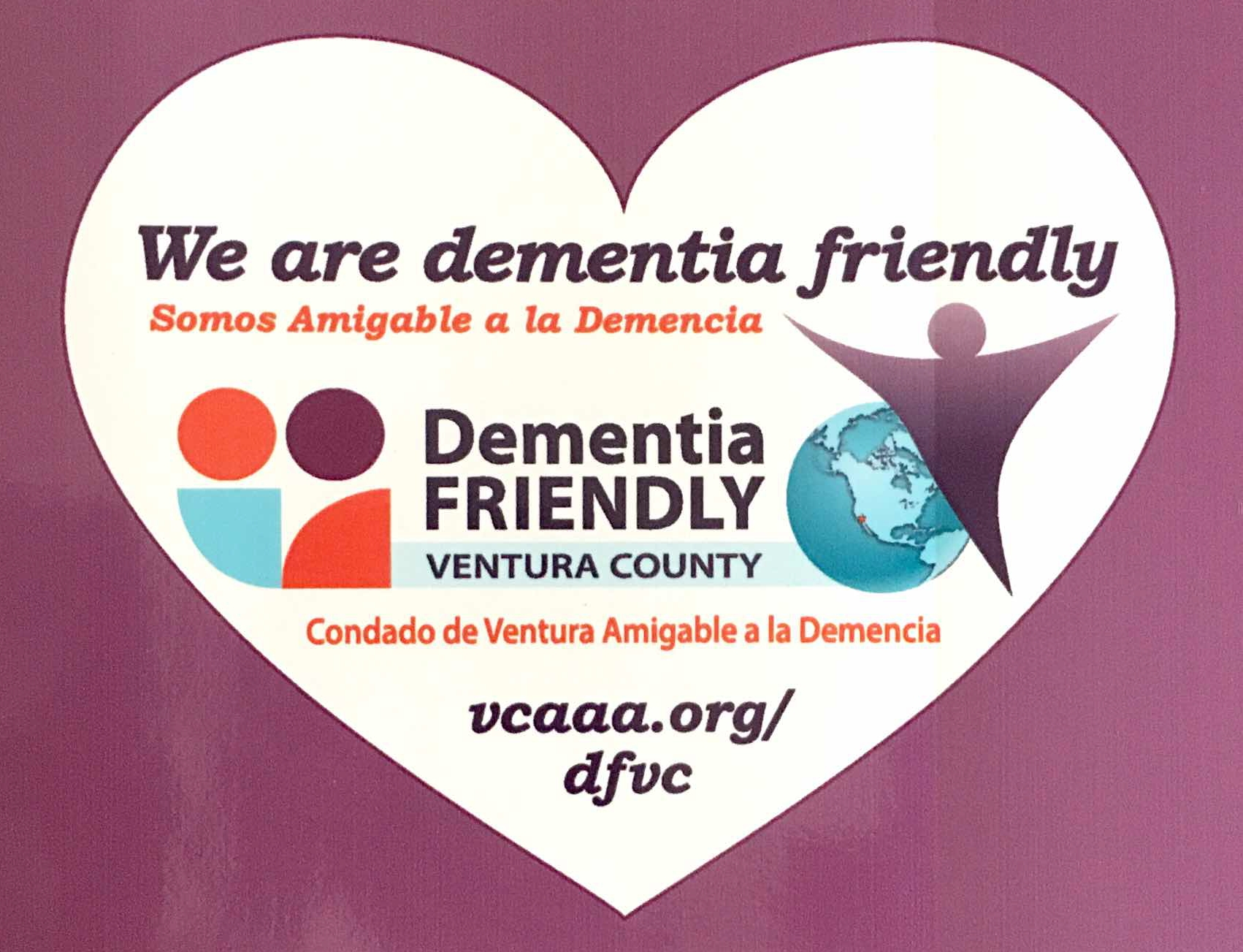 Dementia-Friendly Ventura County logo